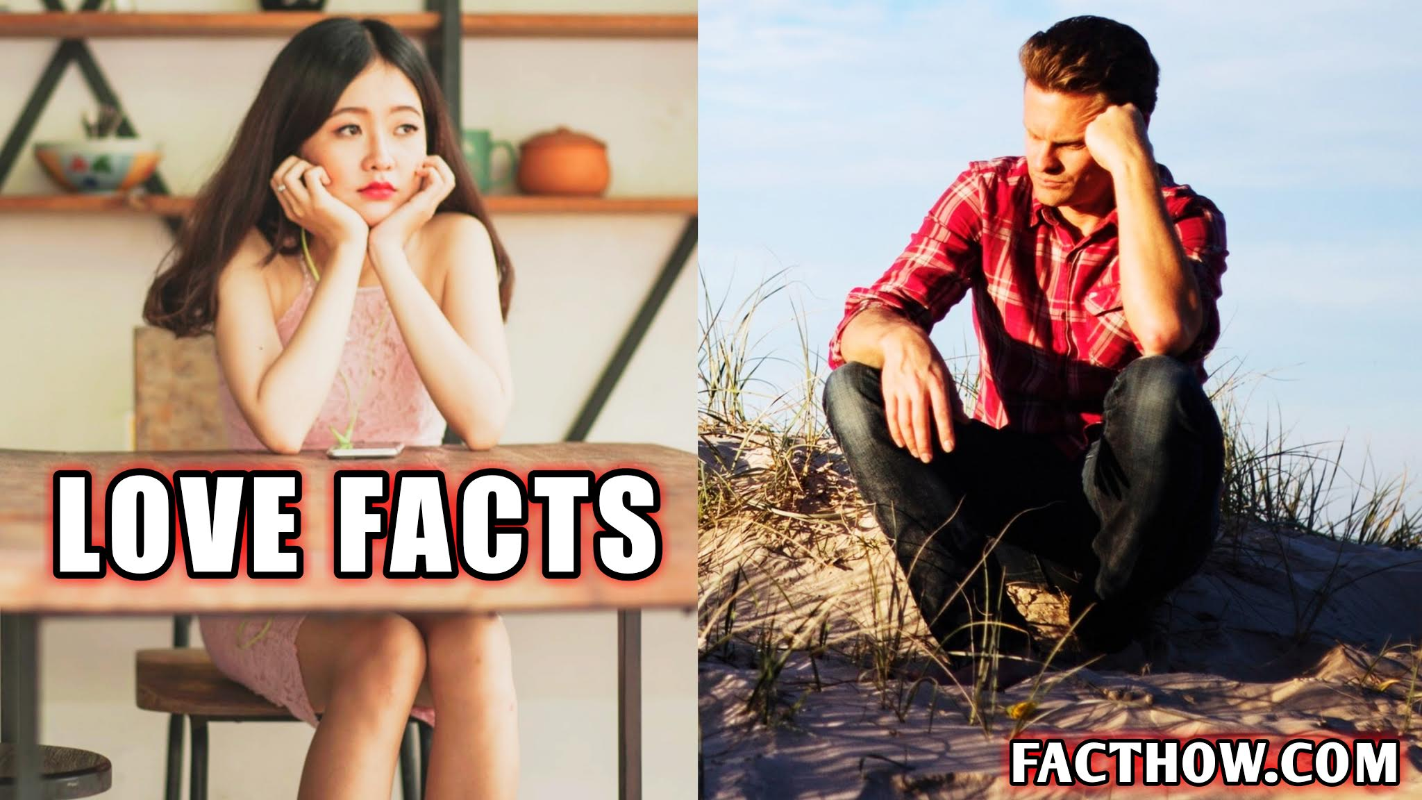 100 interesting facts about love