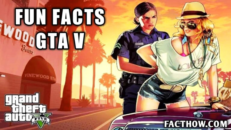 facts about gta v