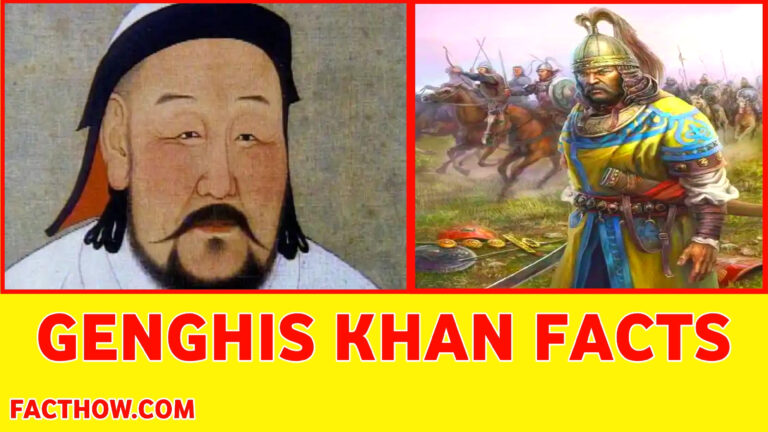 genghis khan facts in hindi